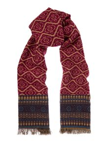 Dickins & Jones Jacquard Border MW Scarf