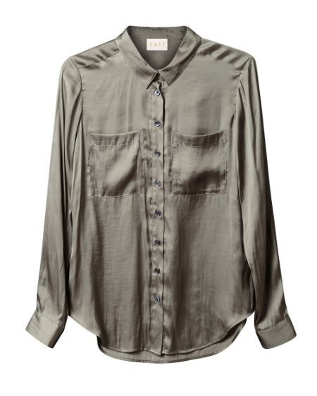 East Pocket detail shirt