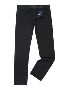 Delaware Slim Fit Black Jeans