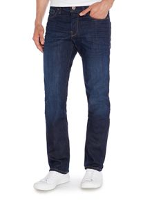 Orange 24 Regular Fit Medium Dark Jeans
