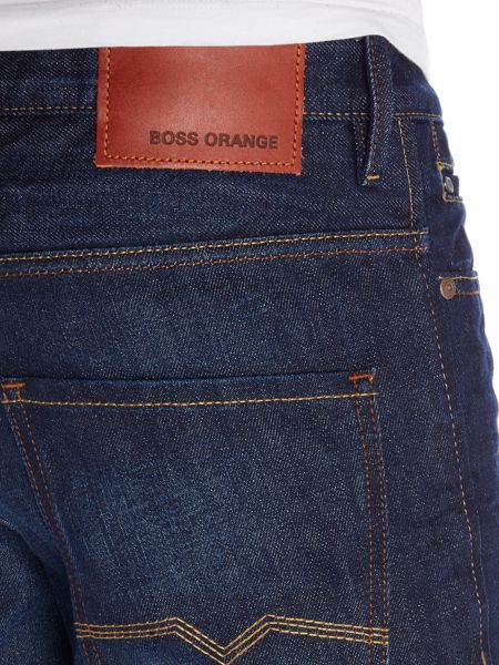 Hugo Boss Orange 24 Regular Fit Medium Dark Jeans