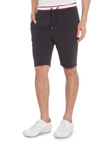 Armani Jeans Drawstring Jersey Short With Contrast Waistband