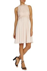Maia bow back dress