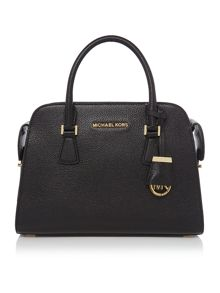 Harper black medium tote bag