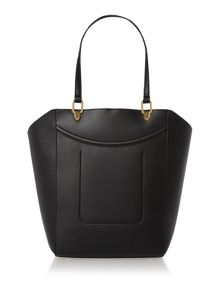 Lauren Ralph Lauren Lexington black large tote bag