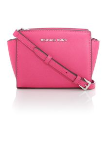 Selma pink mini cross body bag