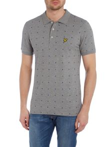 Archive Print Regular Fit Polo Shirt