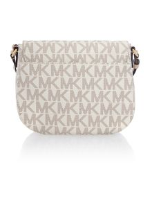 Hamilton neutral logo medium cross body bag