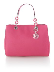 Cynthia pink medium tote bag