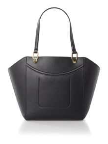Lexington black medium tote bag