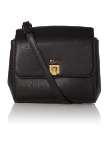 Whitby black small crossbody bag