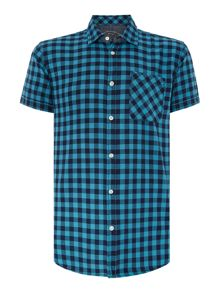 Jack & Jones Short Sleeve Button Through Check Shirt