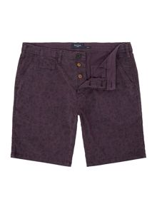 Paul Smith Jeans Print Regular Length Cotton Shorts