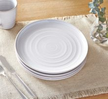 Linea Echo White Dinner Plate Set Of 4