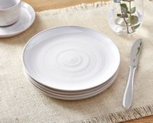 Echo White Side Plate Set of 4
