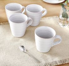Linea Echo White Mug Set of 4