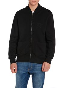 Baseball Jumper Regular Fit Zip Sweatshirt