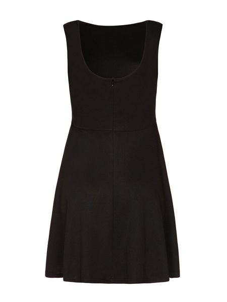 Mela London Zip Waist Skater Dress