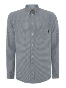 Check Tailored Fit Long Sleeve Button Down Shirt