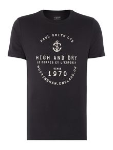 High And Dry Nautical Graphic T-Shirt