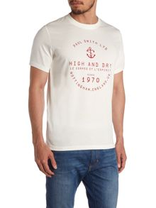 Paul Smith Jeans High And Dry Nautical Graphic T-Shirt