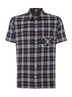 Men's Paul Smith Jeans Check Short Sleeve 1
