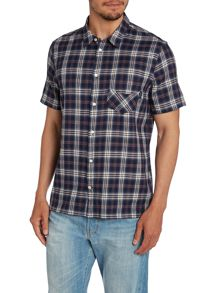 Check Short Sleeve 1 Pocket Shirt
