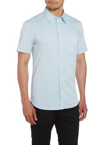 Short Sleeve Oxford Tailored Fit Shirt