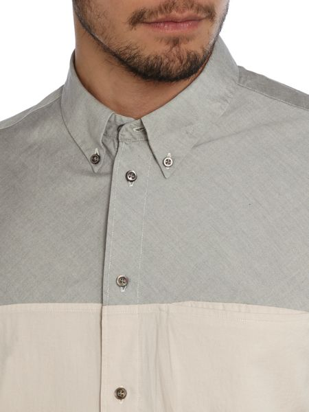 Paul Smith Jeans Classic Fit Cut-And-Sew Oxford Shirt