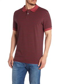 Paul Smith Jeans Regular Fit Striped Polo Shirt