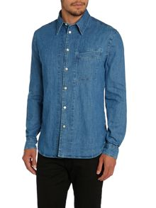 Paul Smith Jeans Tailored Fit Long Sleeve Denim Shirt