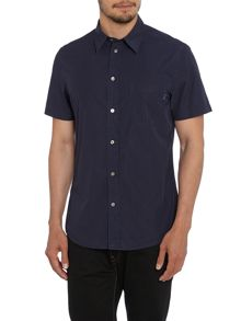 Tailored Fit Short Sleeve Pocket Shirt