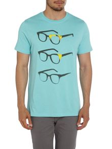 Paul Smith Jeans Glasses Graphic Exclusive T-Shirt