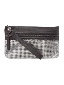 Label Lab Nicole chain mail pouchette bag