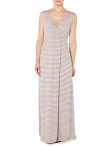 Linea Weekend Feeder stripe jersey maxi dress