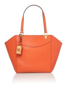 Lexington orange tote bag