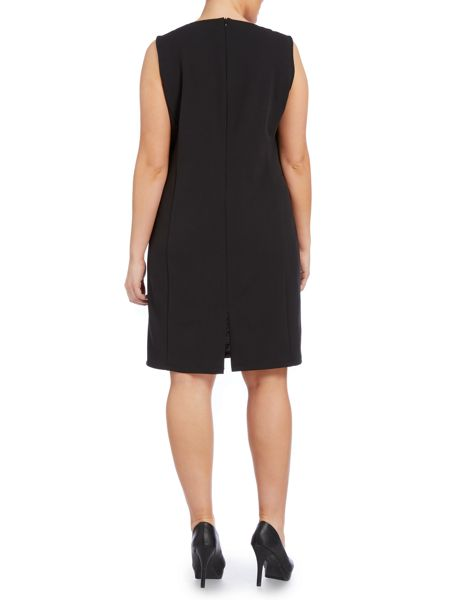 Persona Plus Size Ora jersey panel dress