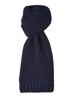 Chunky textured Knit Scarf