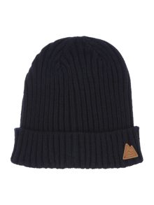 Classic ribbed beanie hat