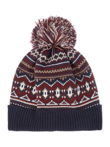 Criminal Fair Isle Beanie Hat