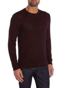Kenneth Cole Jay Honeycombe Knit Texture Jumper