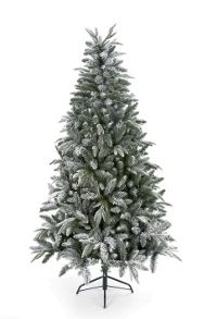 7ft flocked whistler tree