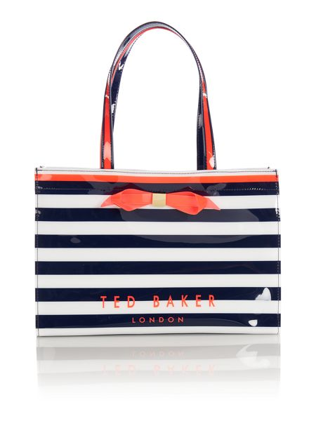 Ted Baker Bettia multi-coloured tote bag with flip flop