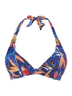 Tropical Splash Goddess Bikini Top