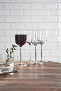 Gray & Willow Ren Wine Glass Set Of 4