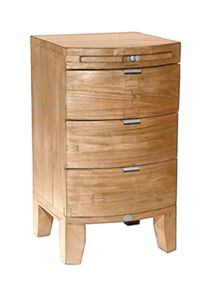 Linea Lyon light 3 drawer bedside chest
