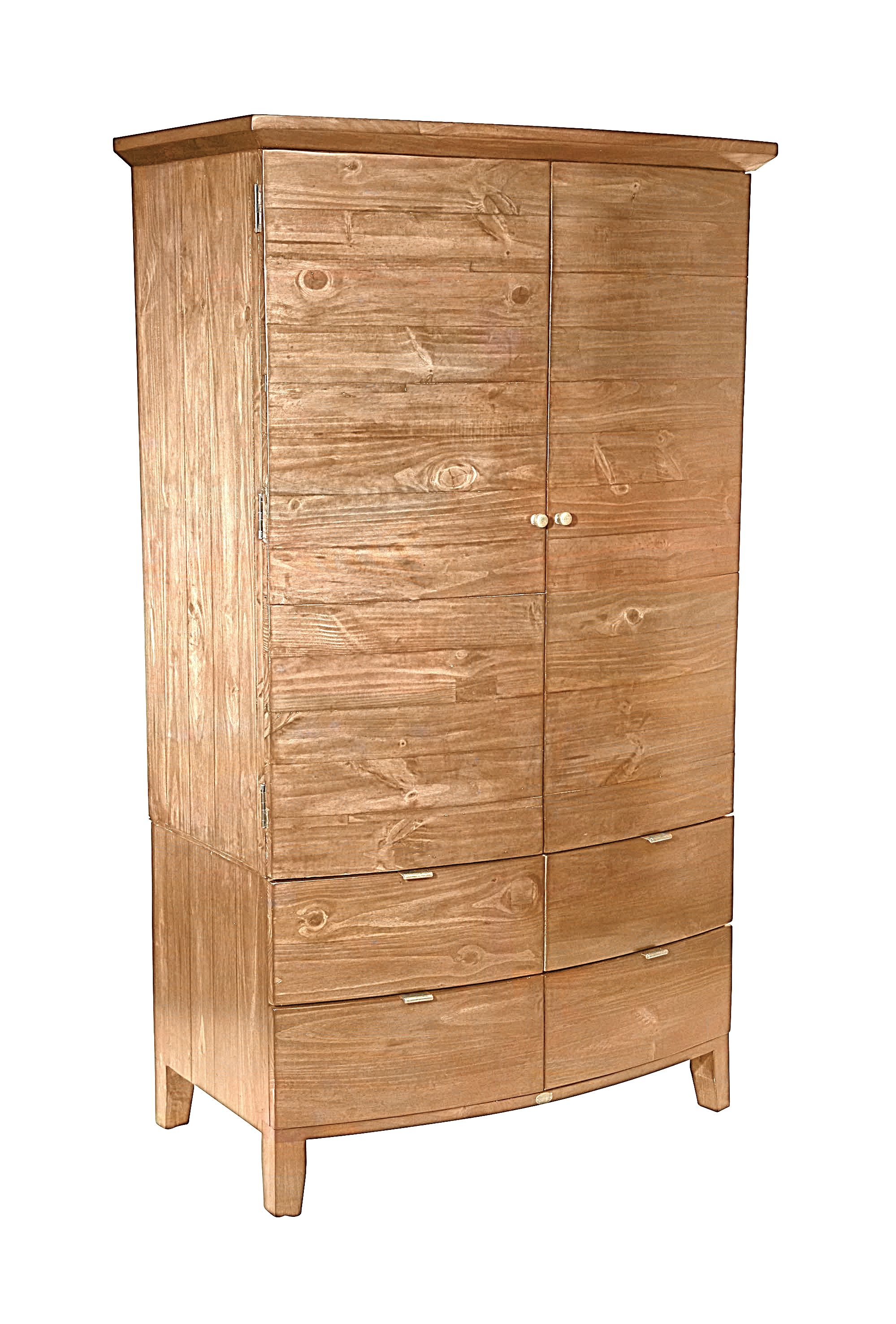 Photo of Linea lyon light double wardrobe with drawers