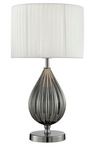 Linea Sophia ribbed table lamp