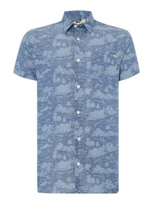 Printed Classic Fit Short Sleeve Shirt