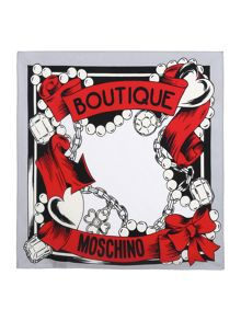 Boutique Jewels Silk Square